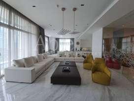 Dijual Apartemen Mewah Pacific Place 500m2 View Sudirman Full Renov