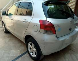 Vitz Model 2008 and Registered December 2012