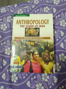ANTHROPOLOGY BOOK FOR SALE