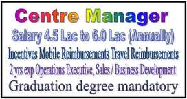 Graduation Only 2 yrs Operations Executive, Sales / Business Developme