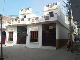 Fresh built house in Triveni nagar 2nd,only corner one is left.