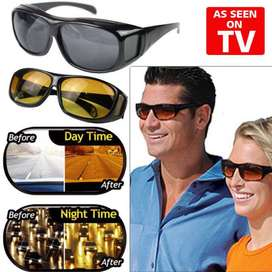 Set of 2 HD Vision Day & Night Glasses