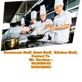 Available:- Hotel STAFF & Restaurant Staff & Fast Food Café Staff->>