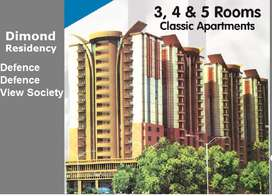 Daimond Residency Appartment available on diffent floors, sizes 1150 s