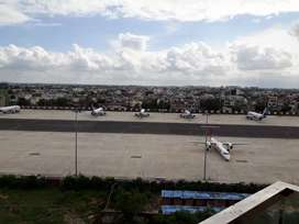 Air Port Airoplane Parking Facing Furnished flat