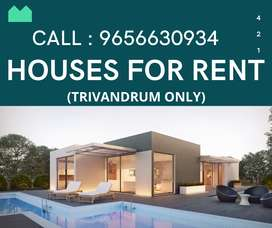 HOUSE FOR RENT IN TRIVANDRUM
