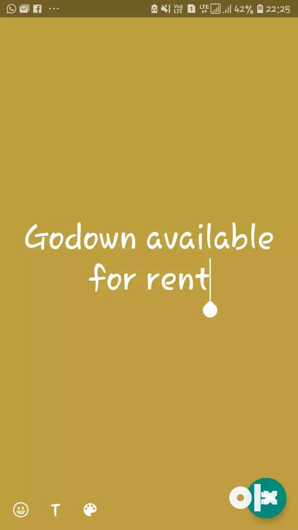 Godown space available for rent 0