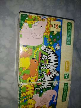 Wooden puzzle game for kids