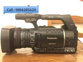 Panasonic AG 130 Video Camera with Less Hours in Good condition