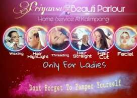 Beauty parlour at your door step