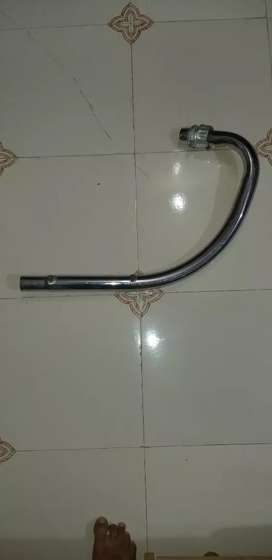 Bend pipe for royalenfield
