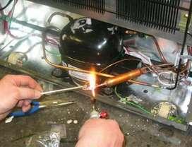 Jasa Servis & isi freon kulkas,perbaikan ac dan mesin cuci