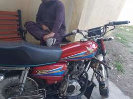 Honda 125 2007 Gujraat Number 9/10 condition