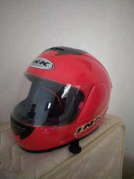 Helm INK Red fullface