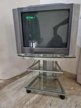 SONY BRAVIA TV + MULTIFUNCTIONAL TROLLEY TABLE