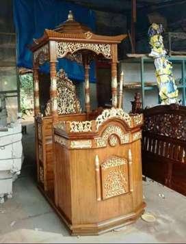 Mimbar masjid terbaru ceramah