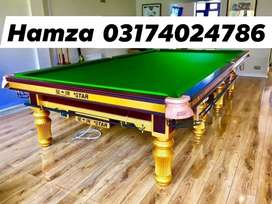 New Snooker Tabie & Rasson snooker table