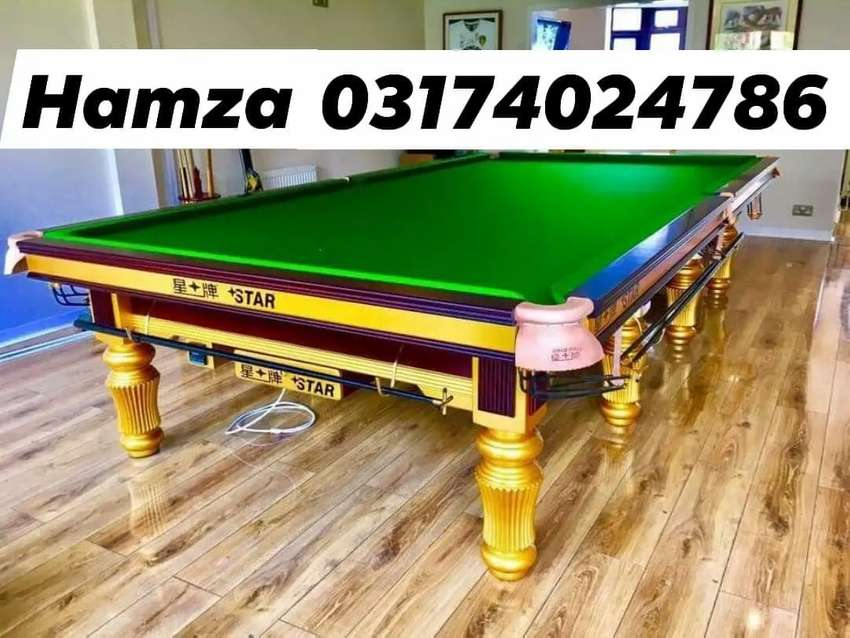 New Snooker Tabie & Rasson snooker table 0