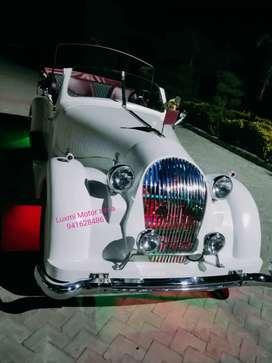 Restored Vintage Wedding Car