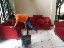 Jasa cuci sofa,springbad,karpet,jok mobil