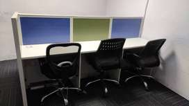 Fully Furnished Office space available.