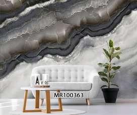 Wallpaper Dinding 3D Bisa Custom Desain Gorden Hordeng Rumah KantorWal