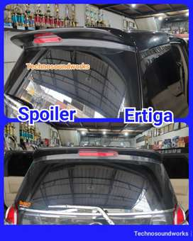 Ertiga old spoiler wing model standar for palang