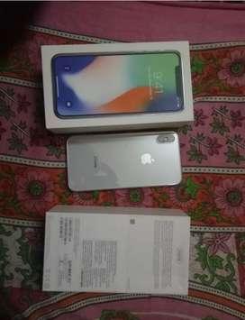 iPhone X 256(3) Original Refurbished fully sealed pack