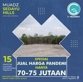 Spesial Harga Pandemi Kavling Tanah Murah di Yogyakarta