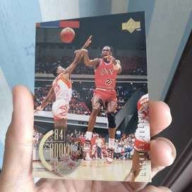 Original Michael Jordan 84 NBA Upperdeck Card
