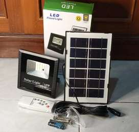 Lampu sorot led 15 watt Solar cell panel