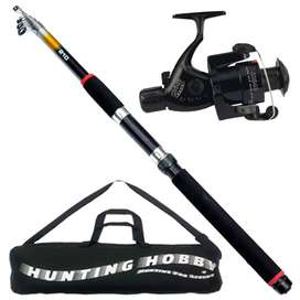 Fishing Spinning Rod, Reel and Travelling Bag (7 ft/210 cm)
