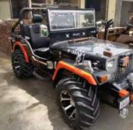 Turbo modified Willy jeep
