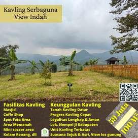Kavling di Bogor, cocok untuk villa karena pemandangannya indah