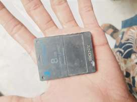 Sony playstation 2 memory card 8 mb good condition