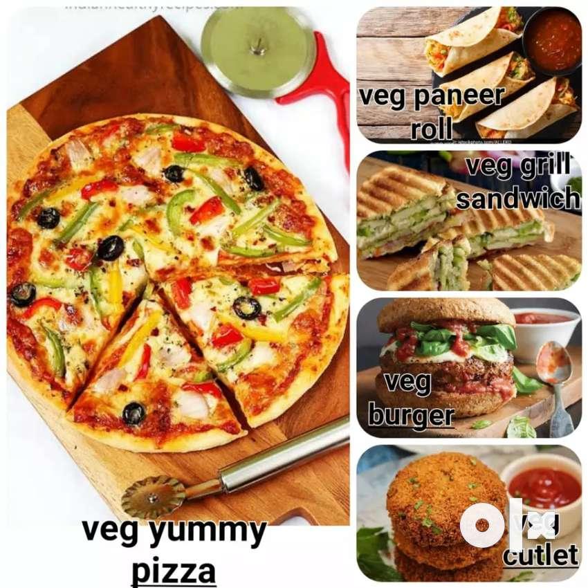 Pizza burgar sendvich katlet bnane wale kushal karigar ki aavsyakta h. 0