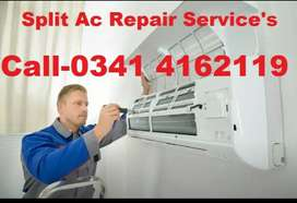 Split AC Repair Service's Gas Filling Fridge Gas Fill All Over Lahore