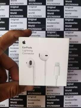 100% Apple Original Lighting Earpods For iPhone 7,8,8Plus,X