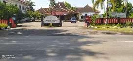 Tanah depan kantor kec.sukoharjo