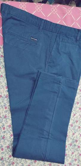 Blue color Original JOhn players trousers, one time used