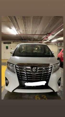 Toyota alphard 2015 pemakaian 2016