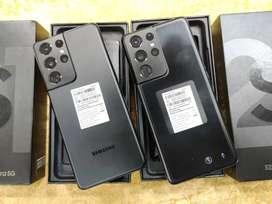 Samsung S21ULTRA 12gb 256gb black on new condition