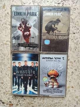 Kaset pita Sheila on 7,dewa 19, Linkin Park,dan lainnya