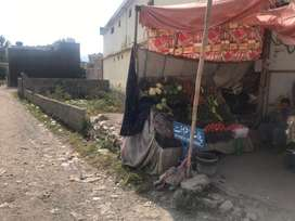 Commercial plot for sale on main JinnahAbad road.