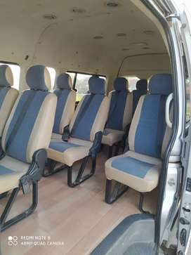 Grand Cabin Hi ace 13-14 seater available for trips.