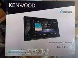 Promo Kenwood ddx 419BT Bluetooth Free Kamera parkir Termurah Surabaya