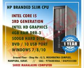 CORE I5 - 3RD GEN. | 4GB | 500GB - 1 YEAR WARRANTY