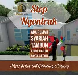 TERMURAH di Tambun Utara Bekasi : Rumah Syariah Tanpa DP
