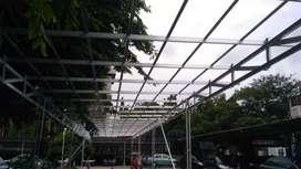 Renovasi atap rumah ganti baja ringan