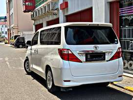 Toyota Alphard G premium sound 2009
